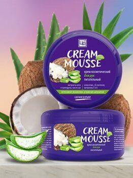 Крем питательный «Cream Mousse» - Для рук