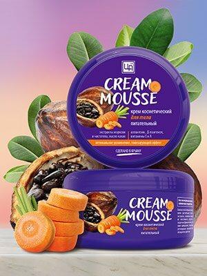 Крем питательный «Cream Mousse» - Для тела