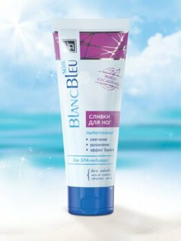 Сливки для ног «Blanc Bleu»