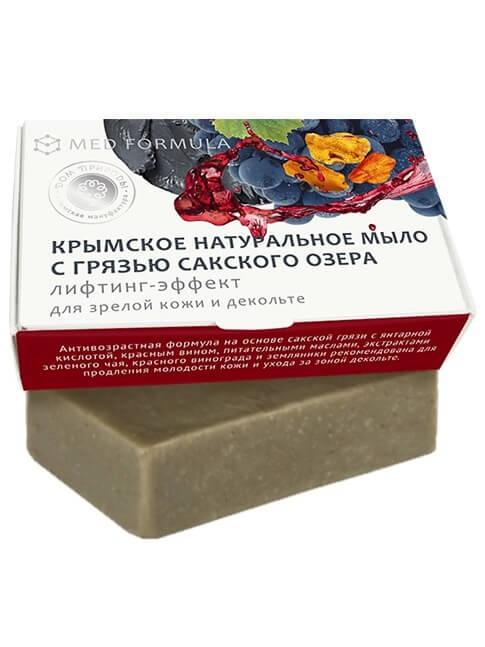Крымское мыло натуральное с грязью Сакского озера «Лифтинг-эффект»
