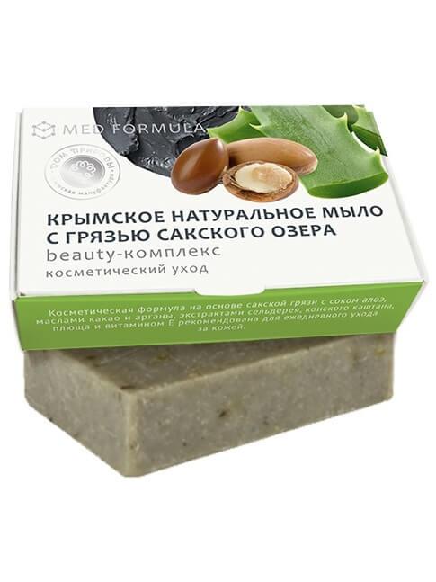 Крымское мыло натуральное с грязью Сакского озера «Beauty-комплекс»