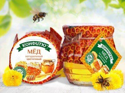 Мед натуральный цветочный