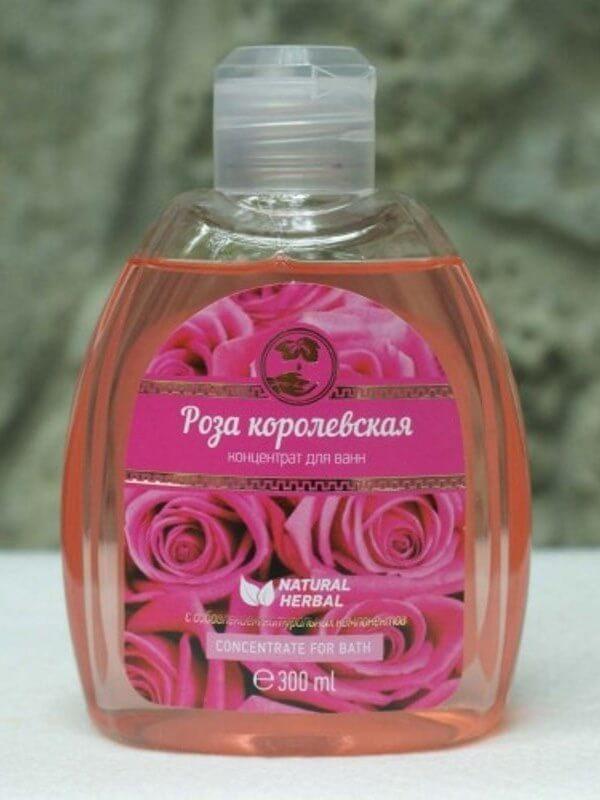 Концентрат для ванн «Роза королевская»