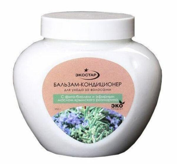 Бальзам-кондиционер для волос «С фито-биолем и эфирным маслом крымского розмарина»