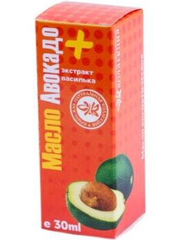 Масло авокадо + экстракт василька
