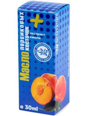 Масло персиковых косточек + экстракт хмеля