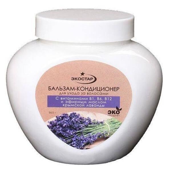 Бальзам-кондиционер для волос «С витаминами и крымской лавандой»