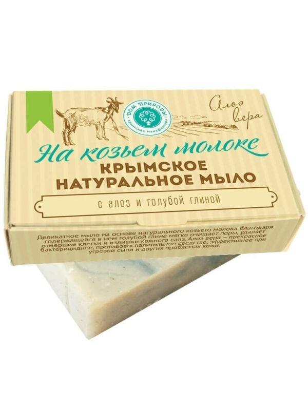 Крымское натуральное мыло «Алоэ вера»