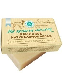 Крымское натуральное мыло «Дамасский шелк»
