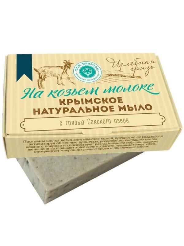 Крымское натуральное мыло «Целебная грязь»