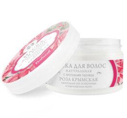 Маска для волос натуральная «Роза чайная»