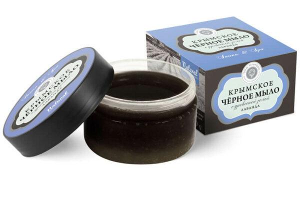 Крымское чёрное мыло «Лаванда»