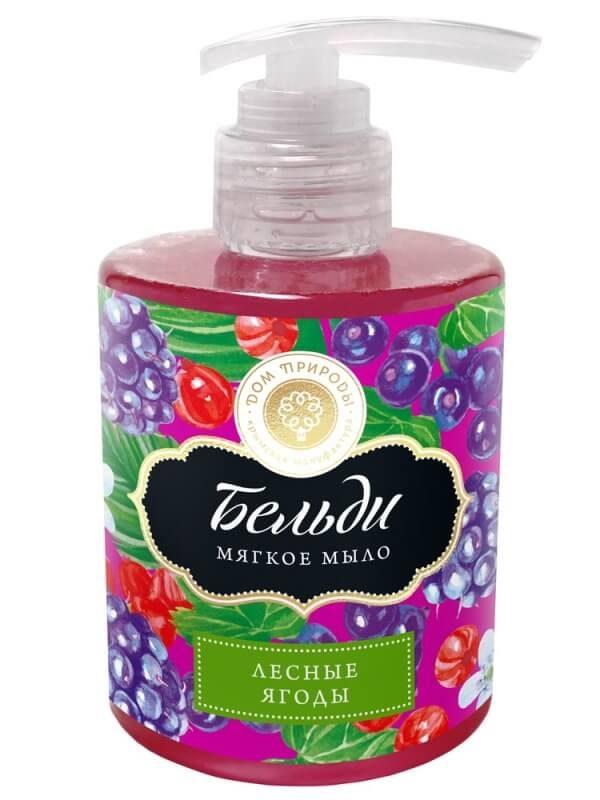 Мягкое мыло бельди «Лесные ягоды»