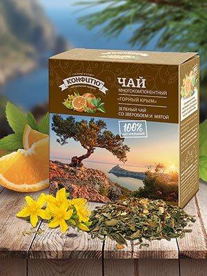 Чай многокомпонентный «Горный Крым»