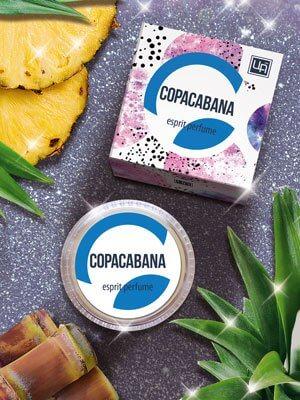 Твердые духи-эспри «Copacabana»