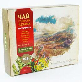 Сбор крымских трав и плодов «Чай горного Крыма. Ассорти»