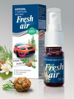 Аэрозоль с эфирными маслами «Fresh Air»