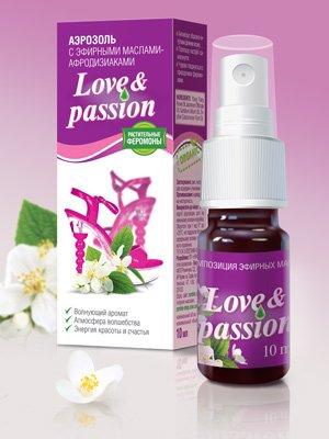 Аэрозоль с эфирными маслами «Love & Passion»