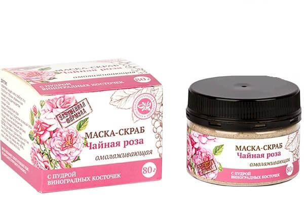Маска-скраб «Чайная роза»