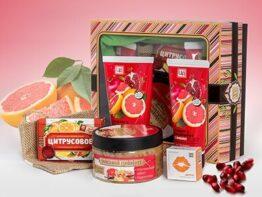 """Подарочный набор косметики """"Гранат & грейпфрут"""""""
