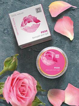 Бальзам для губ «Роза»
