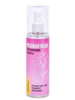 Розовая вода с витаминами красоты