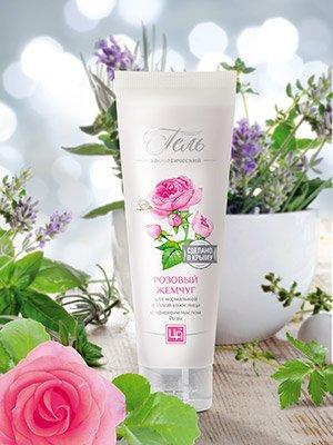 Гель для кожи лица «Розовый жемчуг»