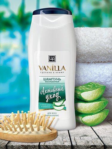 Шампунь «Vanilla» - Активный уход