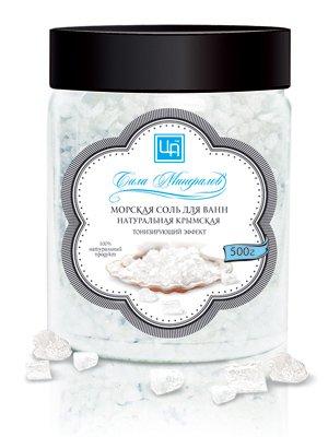 Крымская морская соль для ванн «Сила минералов»