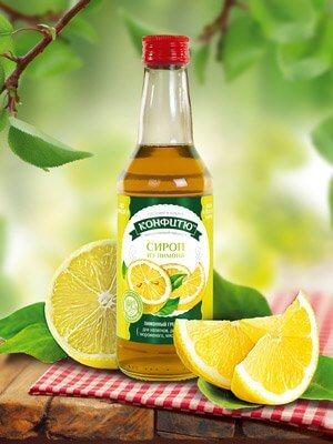 Сироп из лимона