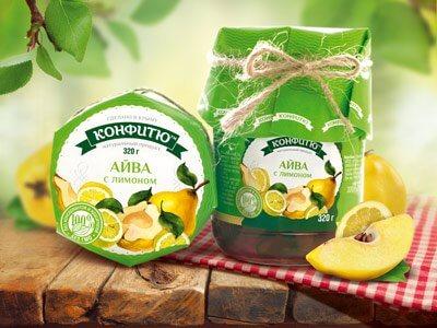 Варенье «Айва с лимоном»
