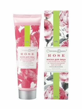 Маска для лица «Rose» - Увлажнение