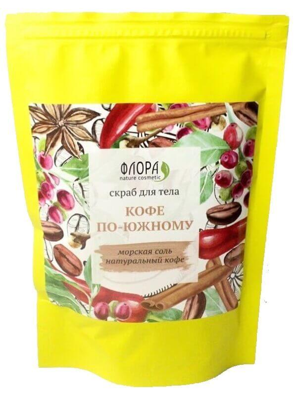 Сухой скраб для тела «Кофе по-южному»