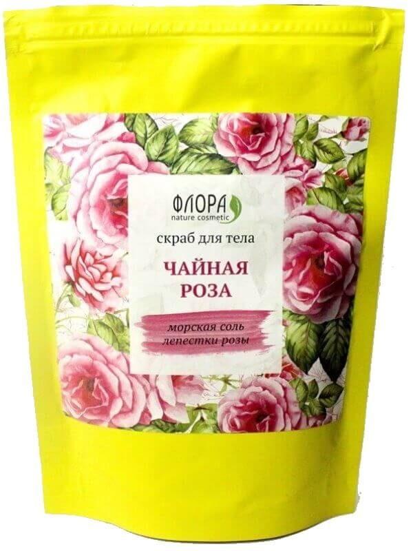 Сухой скраб для тела «Чайная роза»