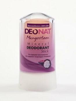 Минеральный дезодорант «DeoNat» с соком мангостина_60 гр.