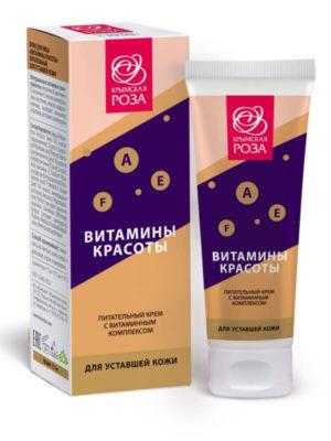 Крем питательный «Витамины красоты» - Для уставшей кожи