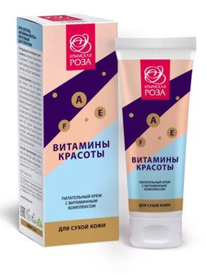 Крем питательный «Витамины красоты» - Для сухой кожи