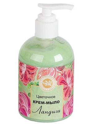 Цветочное крем-мыло «Ландыш»