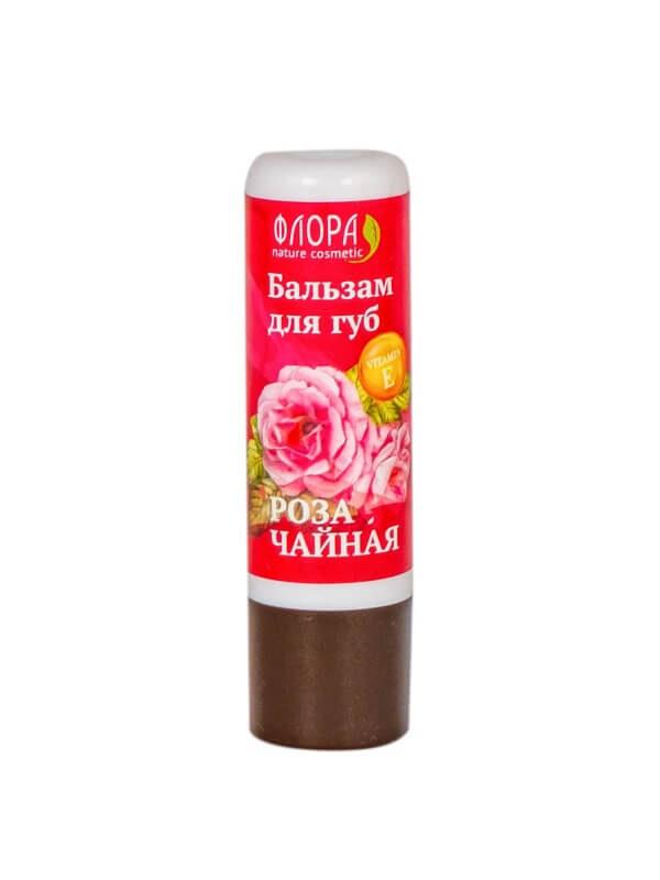 Бальзам для губ «Роза чайная»