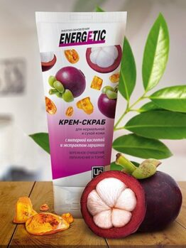 Крем-скраб «Energetic» - Для нормальной и сухой кожи