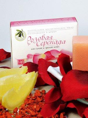 Мыло «Розовая серенада»