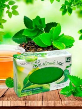 Мыло «Зеленый чай»