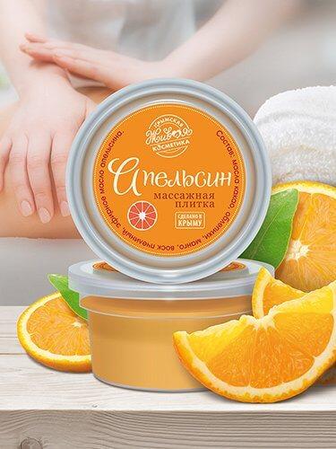 Массажная плитка «Апельсин»