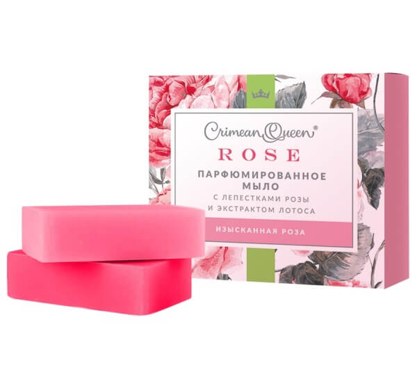 Парфюмированное мыло «Rose» - Изысканная роза