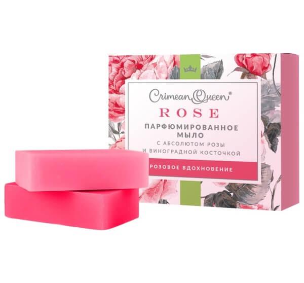 Парфюмированное мыло «Rose» - Розовое вдохновение