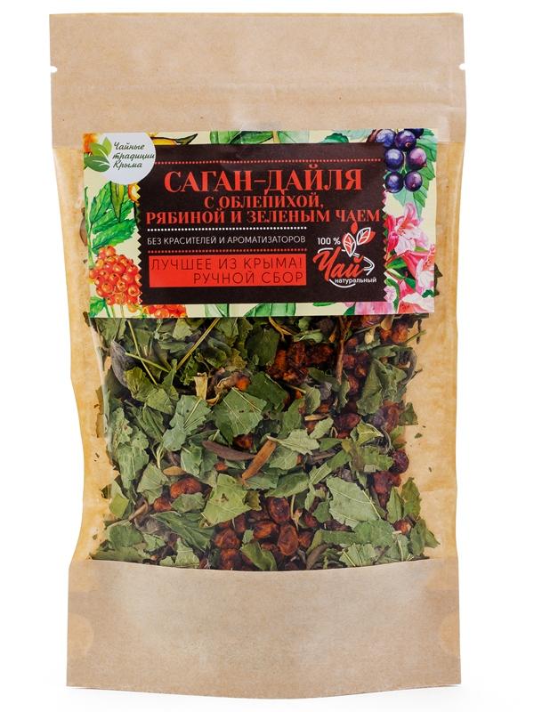 Саган-Дайля с облепихой, рябиной и зеленым чаем