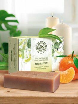 Мыло натуральное парфюмированное «Manhattan»