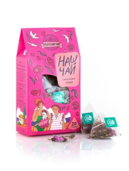 Травяной чай в пирамидках «С крымской розой»